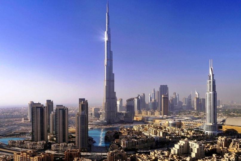 Бурдж-Халифа - Башня Халифа в Дубае