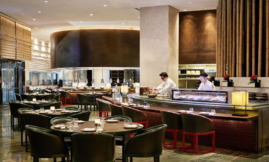 Ресторан японской кухни Armani/Hashi