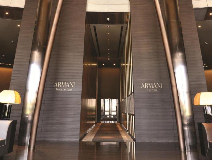 Бурдж-Халифа - Отель Armani