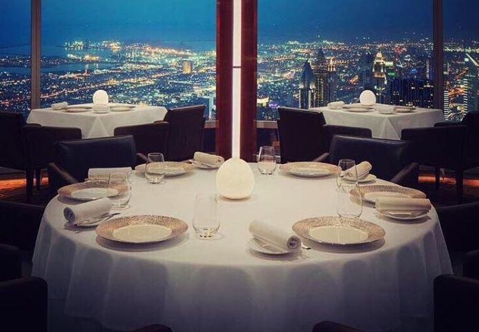 "Ресторан ""At.mosphere"" в Бурдж-Халифа"