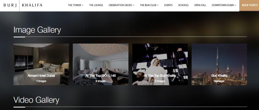 Фото и видео галереи