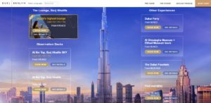Заказ билетов через официальный сайт Бурдж-Халифа