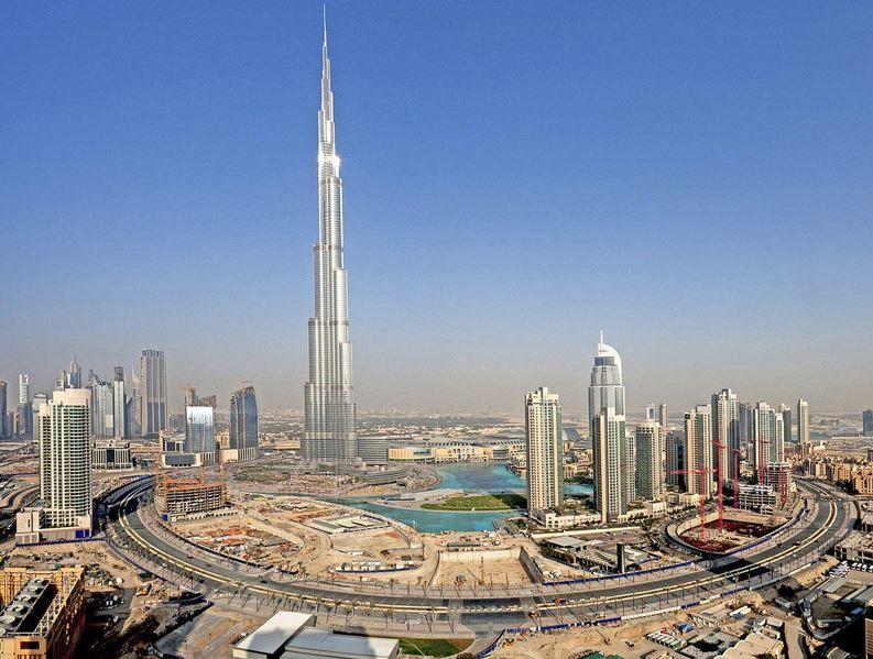 Бурдж-Халифа - самое высокое здание в мире
