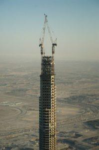 Строительство Бурдж-Халифа